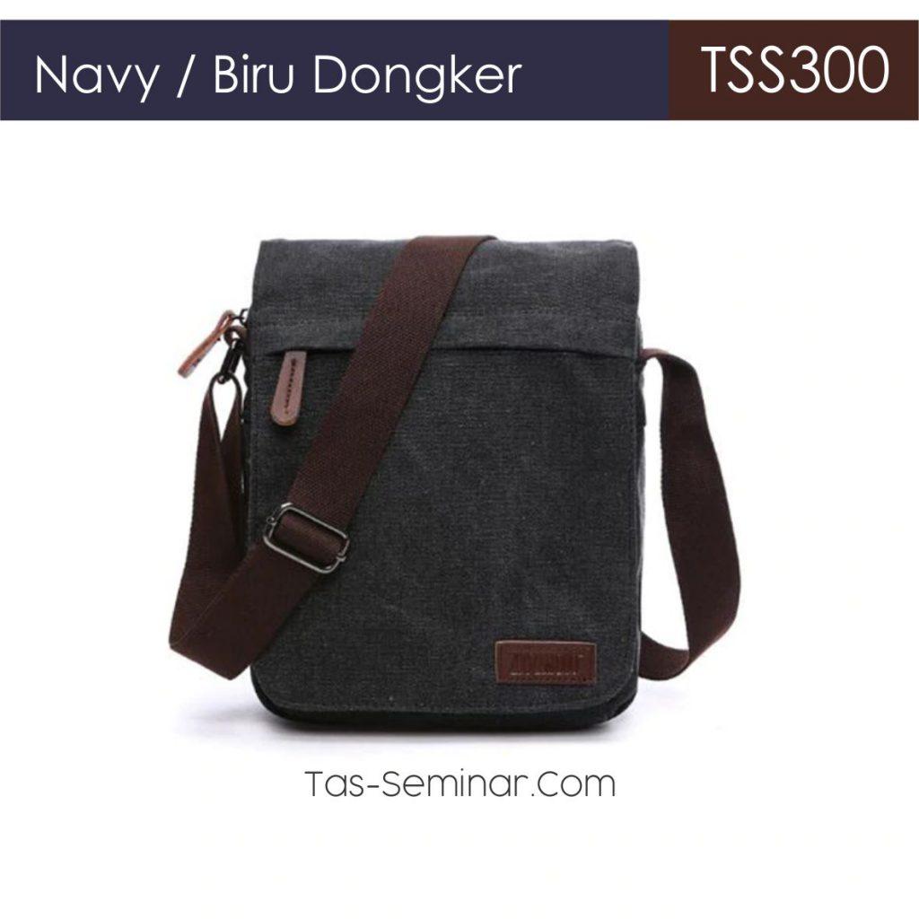 Warna Pilihan Biru Dongker Tas Seminar Selempang TSS300