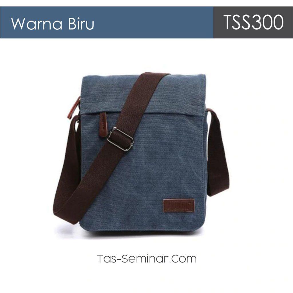Warna Biru Pilihan Tas Seminar Selempang TSS300