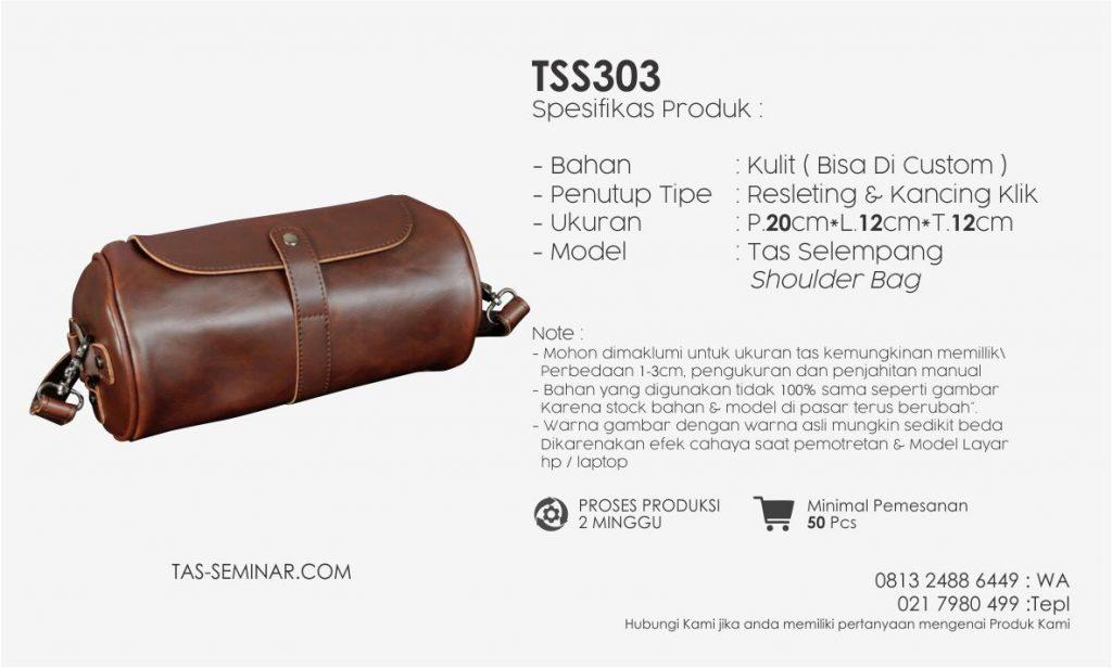 Spesifikasi Prduk Tas Seminar Selempang TSS303