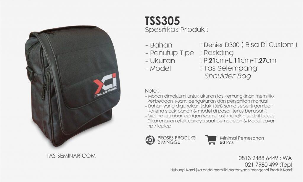 Spesifikasi tas Seminar Selempang TSS305