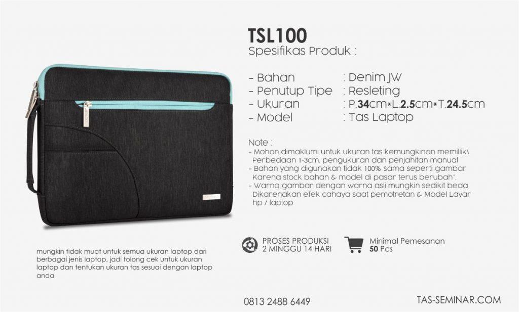 Desktipsi Tas Seminar Laptop TSL100 Jakarta