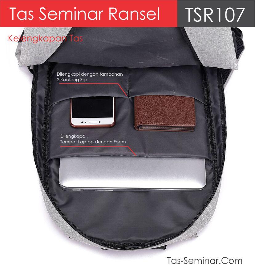 kelengkapan tas seminar ransel trs107 | pabrik tas semina jakarta