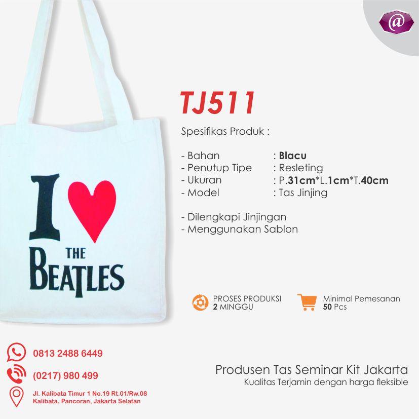 spesifikasi tas seminar jinjing TJ511 pabrik tas seminar jakarta
