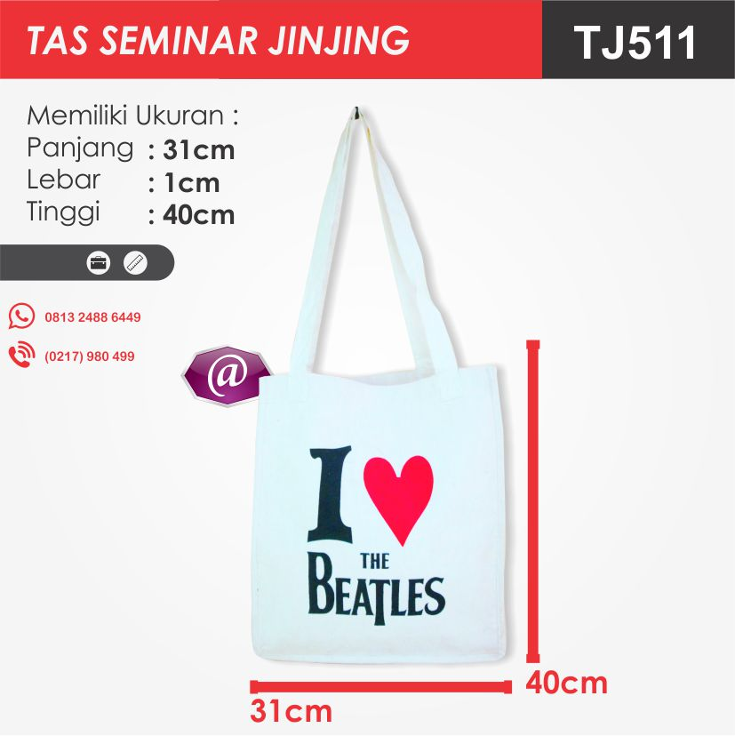 ukuran tas seminar jinjing TJ511 pesan tas seminar jakarta