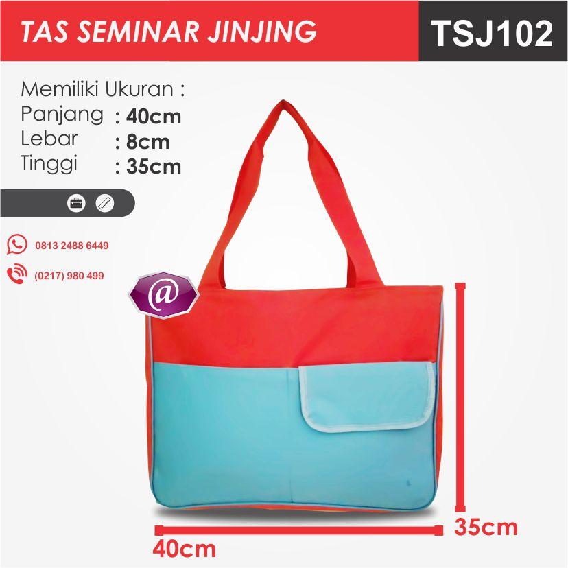 ukuran tas seminar jinjing TSJ102 pesan tas seminar jakarta